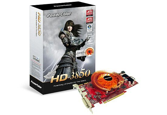PowerColor HD 3850 1 Gb